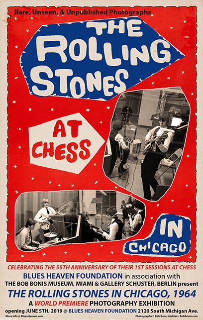 Bob Bonis Rolling Stones Chess Studios Poster